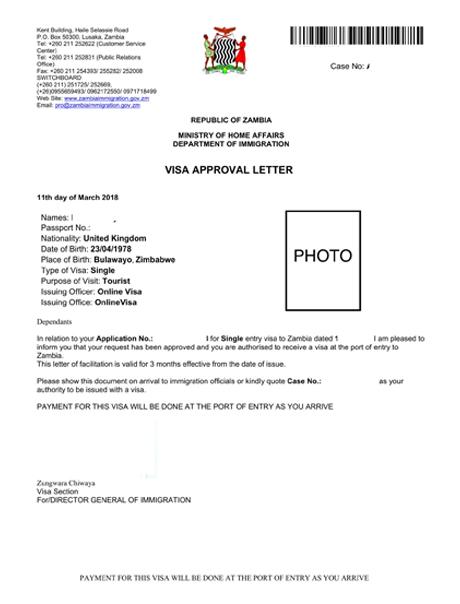 The e-Visa for Uganda